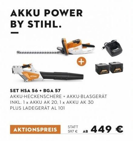Akku Power by Stihl